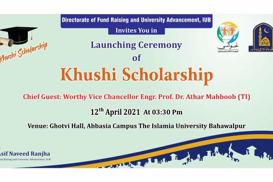 Khushi Scholarship