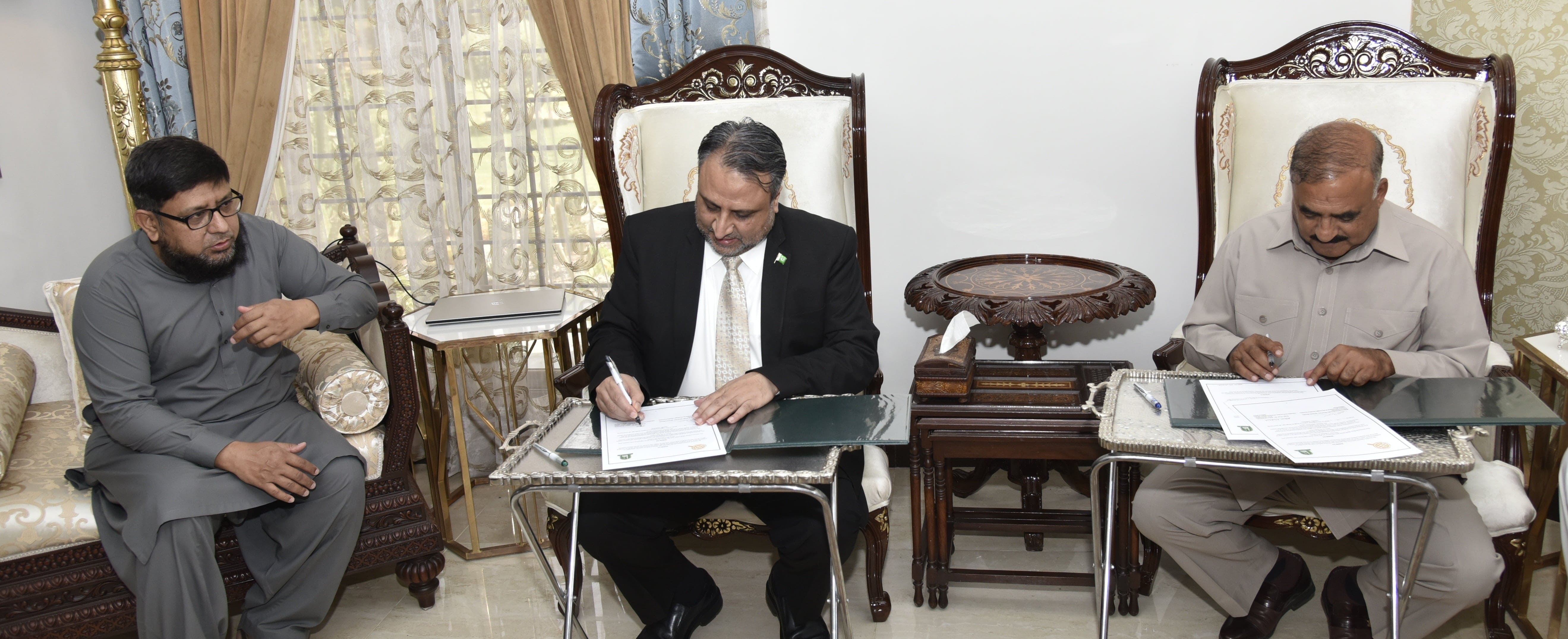 IUB and CGSS signed MOU to initiate joint research projects