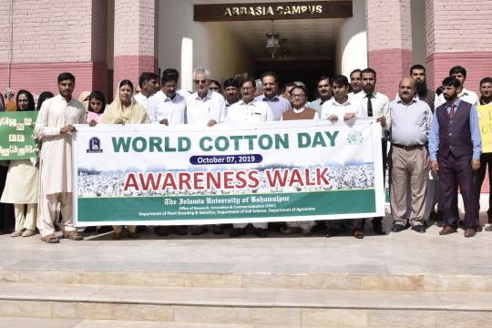 Participants of World Cotton Day Seminar