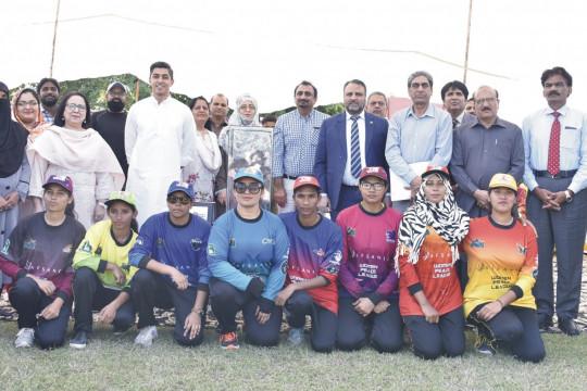 Unveilling of Women Peace League Trophy Ceremony