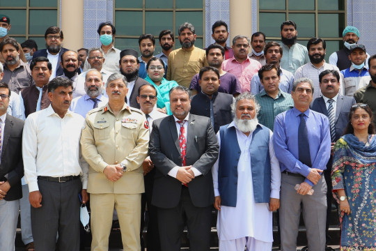 Corps Commander Bahawalpur Visits the Islamia University of Bahawalpur