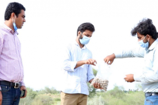 IUB CIDS faculty and students participate in seeds dispersal plantation drive in Cholistan Desert