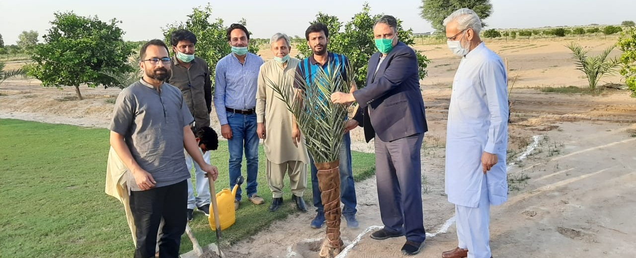 Worthy Vice Chancellor Visited a Local Farm House