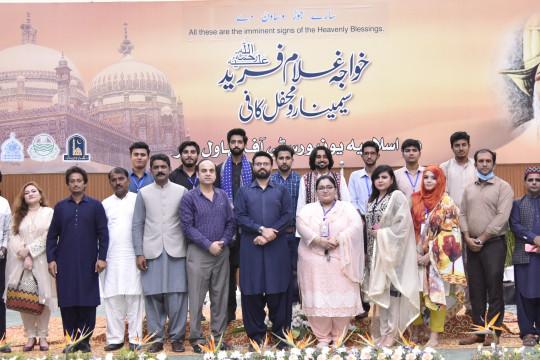 The participants of Mahfil-e-Kaafi