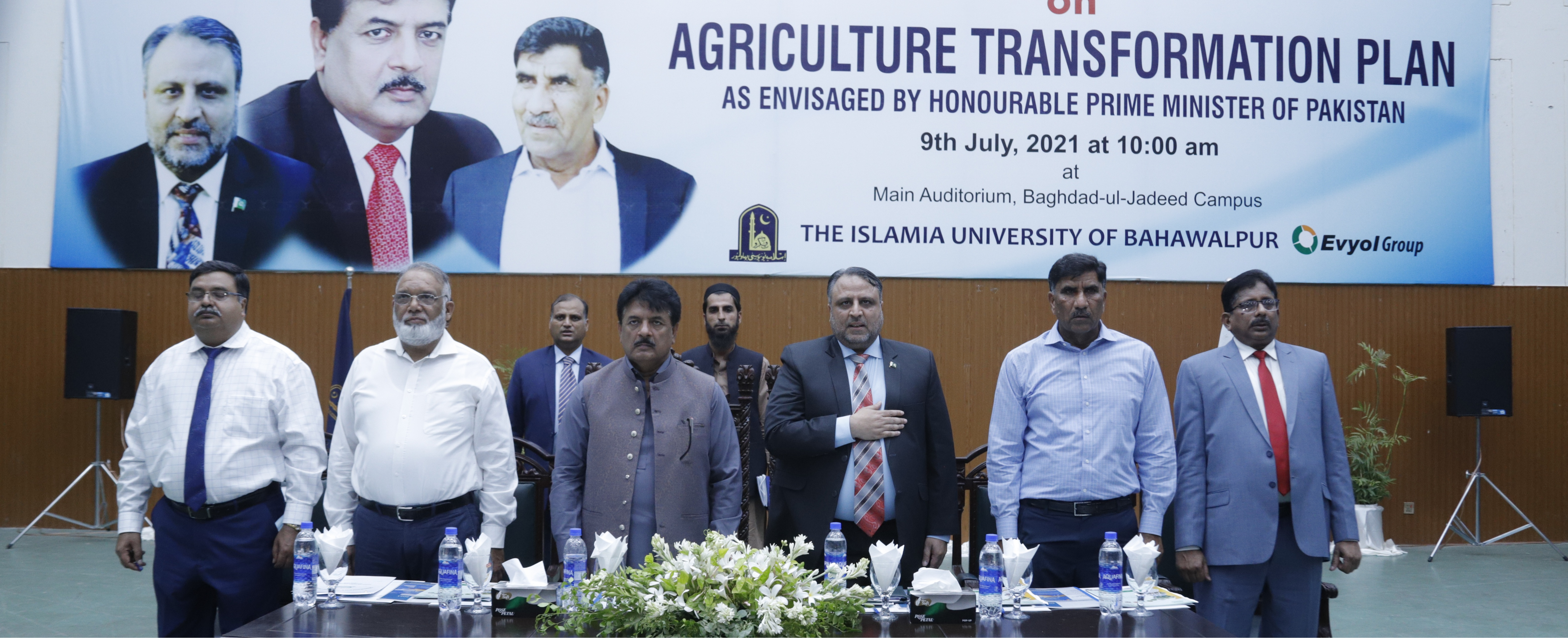 A mega seminar on reforms in the country's agriculture