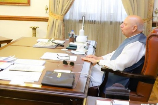 Worthy Vice Chancellor Meets Governor Punjab At Governor House Lahore