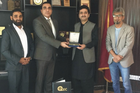 QEC, IUB conducted a Orientation/Training session for the Faculty and Officers of UET, Taxila
