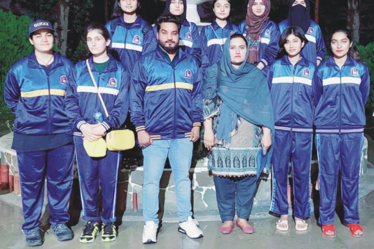 IUB Women's Karate Team won a Bronze Medal